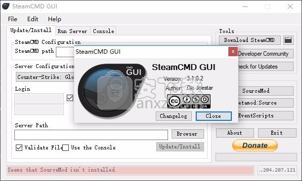 steamCMD GUI(steam局域网架设工具)