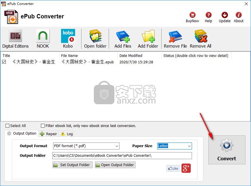 Converter(epub格式转换器)
