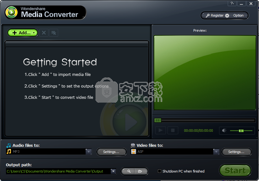 Wondershare Media Converter(媒体转换器下载)