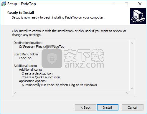 FadeTop(定时休息提醒软件)