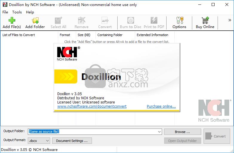 Doxillion Document and PDF Converter Plus(文档转换成pdf工具)