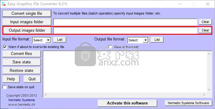 Easy Graphics File Converter(图片文件格式转换器)