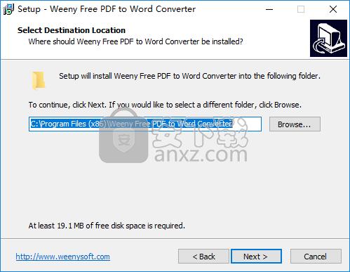 Weeny Free PDF to Word Converter(PDF转Word转换器)