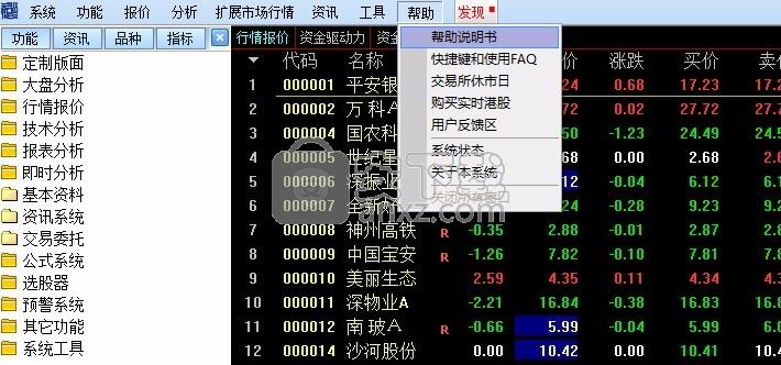 国海证券通达信行情交易整合版