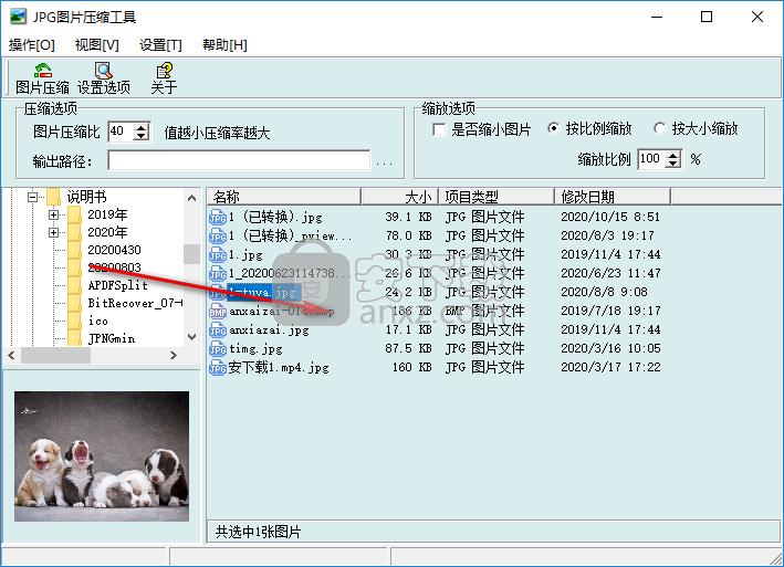 jpg图片压缩器(JPGCompact)