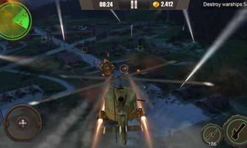 皇牌突袭武装直升机空战(2)