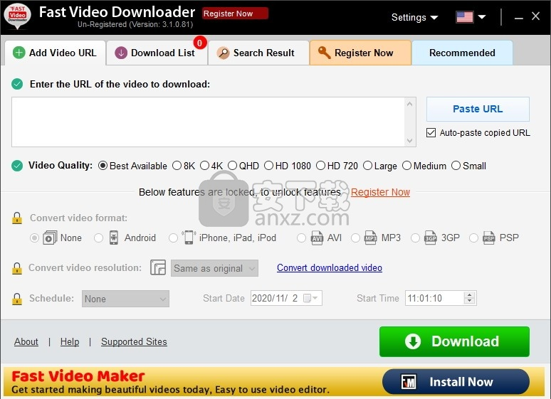 Fast Video Downloader(快速视频下载器)