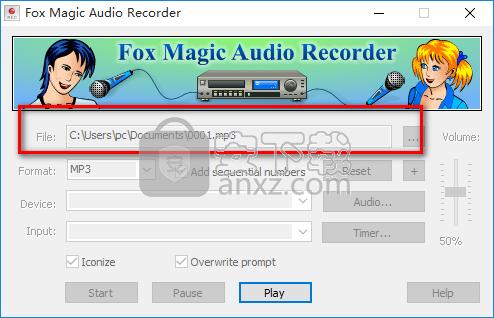 Fox Magic Audio Recorder(音频录制工具)
