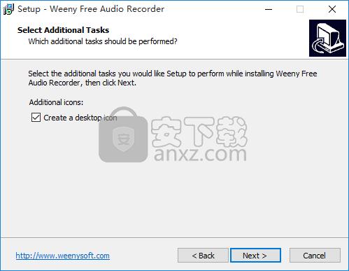 Weeny Free Audio Recorder(免费音频录制软件)