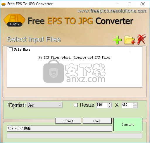 Free EPS To JPG Converter(EPS转JPG转换器)