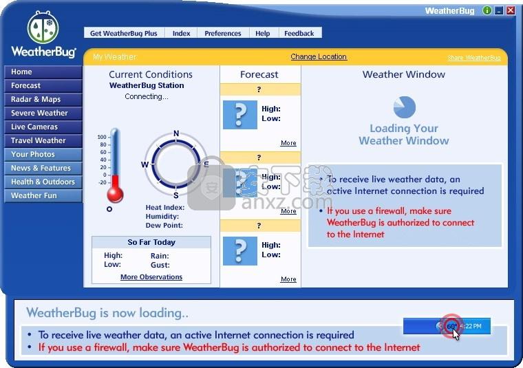 WeatherBug(多功能天气预报工具)