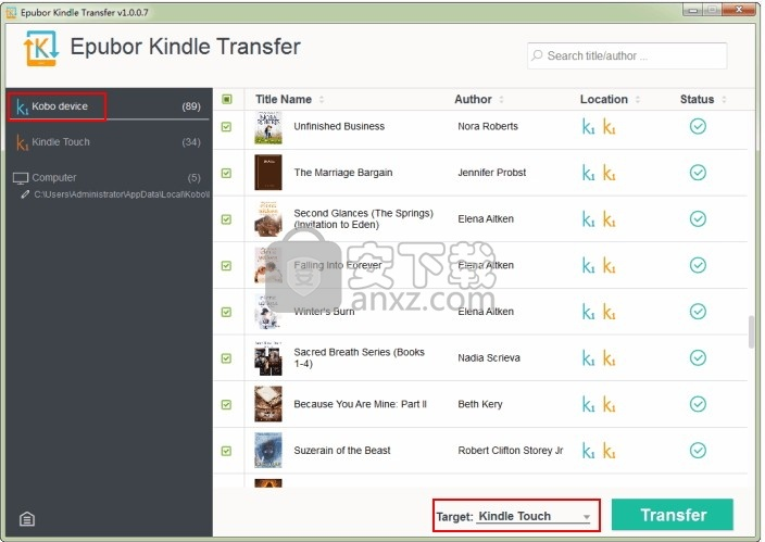 Epubor Kindle Transfer(多功能电子书发布平台)