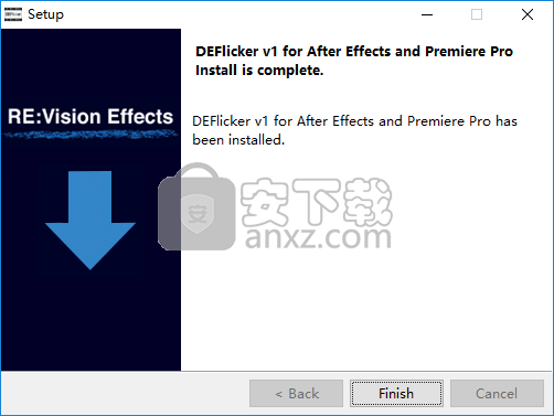RevisionFX DEFlicker(AE视频去闪烁插件)