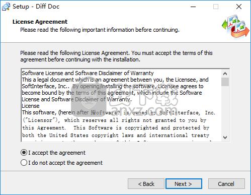 SoftInterface Diff Doc(文档比较软件)