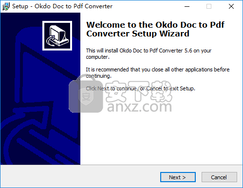 Okdo Doc to Pdf Converter(doc转pdf转换器)