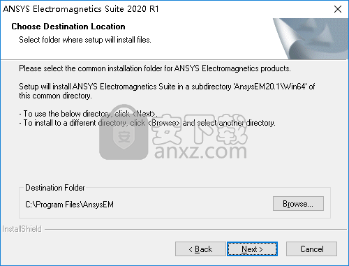 ansys electronics suite 2020 R1 64位破解版