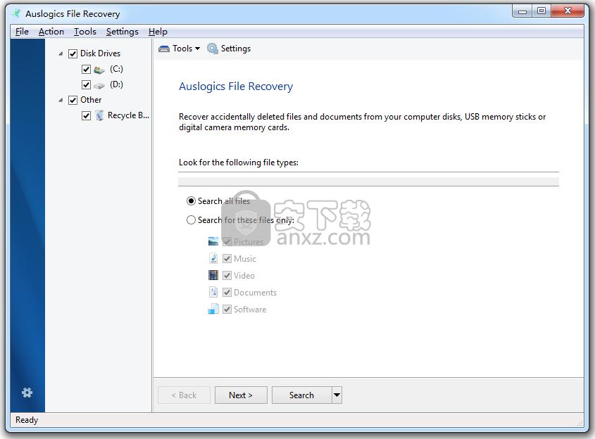 Auslogics File Recovery(数据恢复)