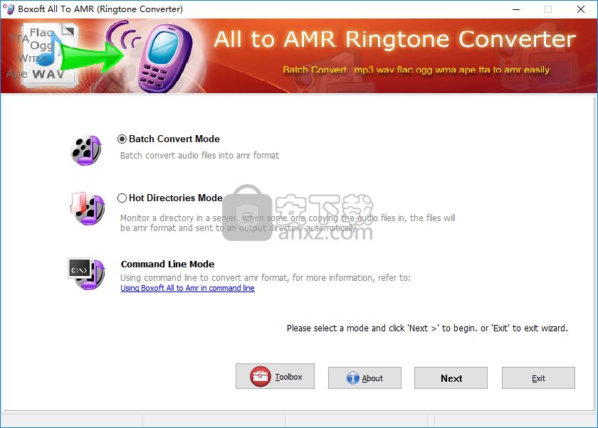 Boxoft All to Amr Converter(音频转换工具)