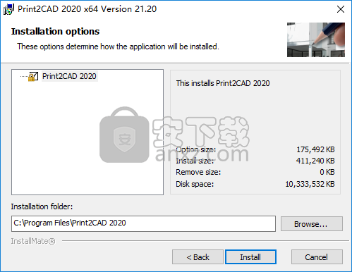 Print2CAD 2020(CAD转换器)