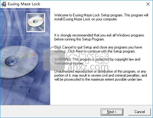 电脑九宫格屏幕锁屏(Eusing Maze Lock)