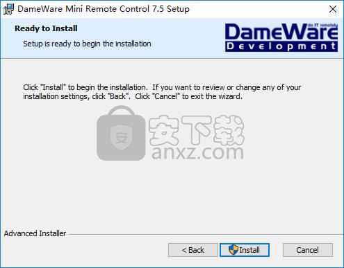 DameWare Mini Remote Control(远程控制软件)