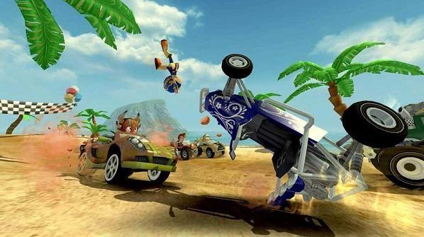 4D极速沙滩赛车(4)