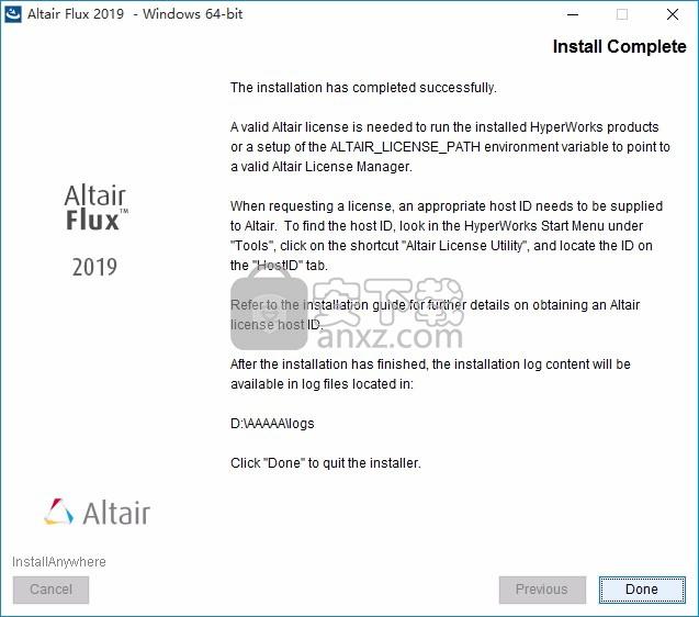 Altair Flux 2018 64位破解版