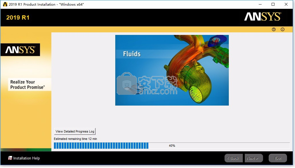 ansys products 2019 r1 64位中文破解版