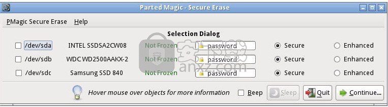 Parted Magic 2016绿色版(磁盘管理工具箱)