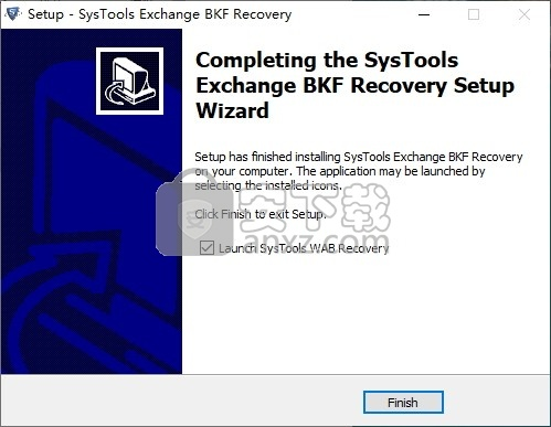 SysTools Exchange BKF Recovery(Exchange BKF数据恢复工具)