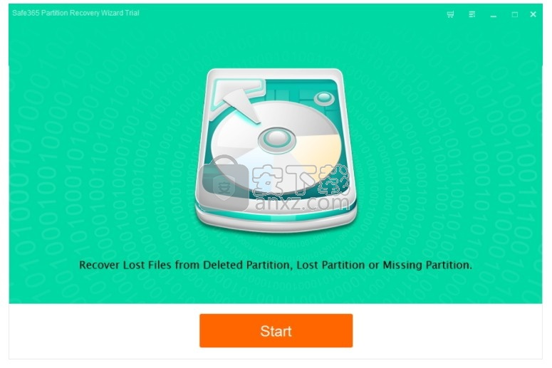 Safe365 Partition Recovery Wizard(分区数据恢复软件)