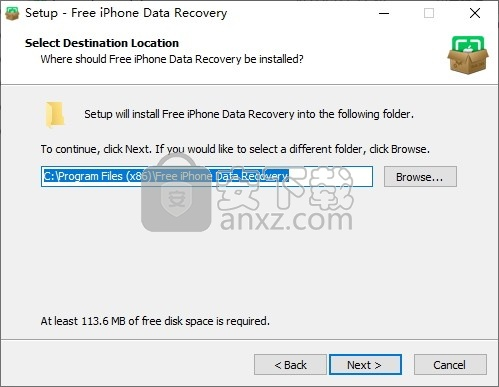 Safe365 Free iPhone Data Recovery(免费iPhone数据恢复软件)