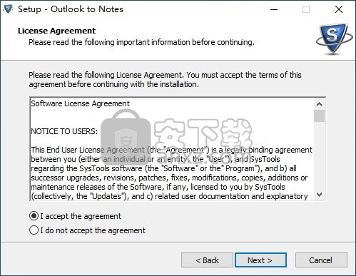 SysTools Outlook to Notes(PST转NSF转换器)
