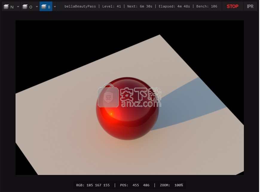 Bella GUI(光谱物理渲染器)