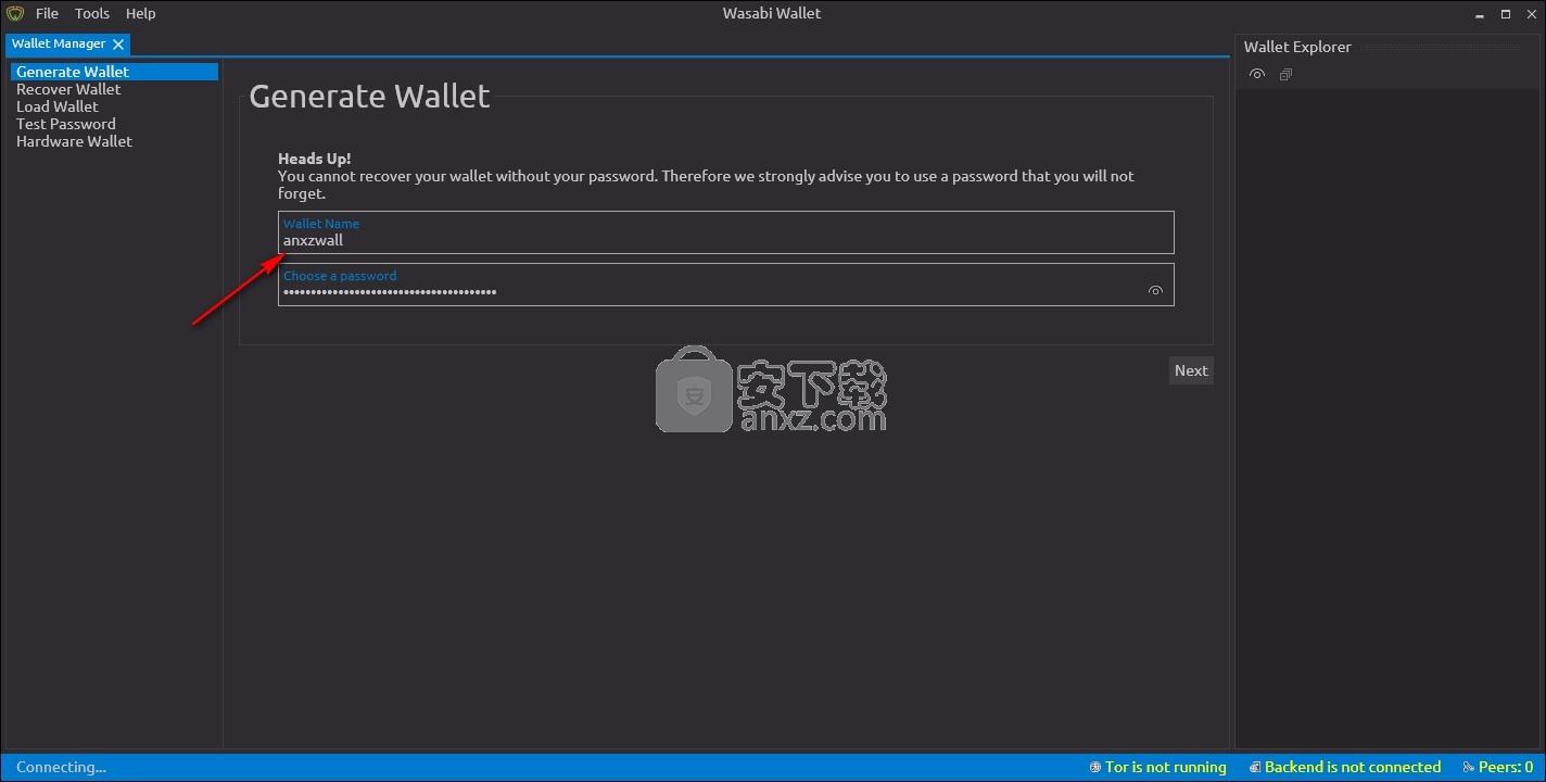 Wasabi Wallet(比特币钱包)
