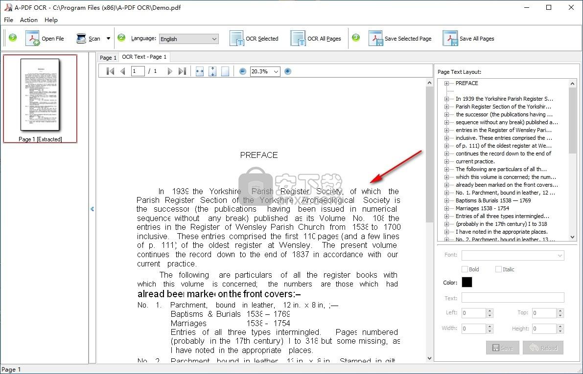 A-PDF OCR(pdf文字识别软件)