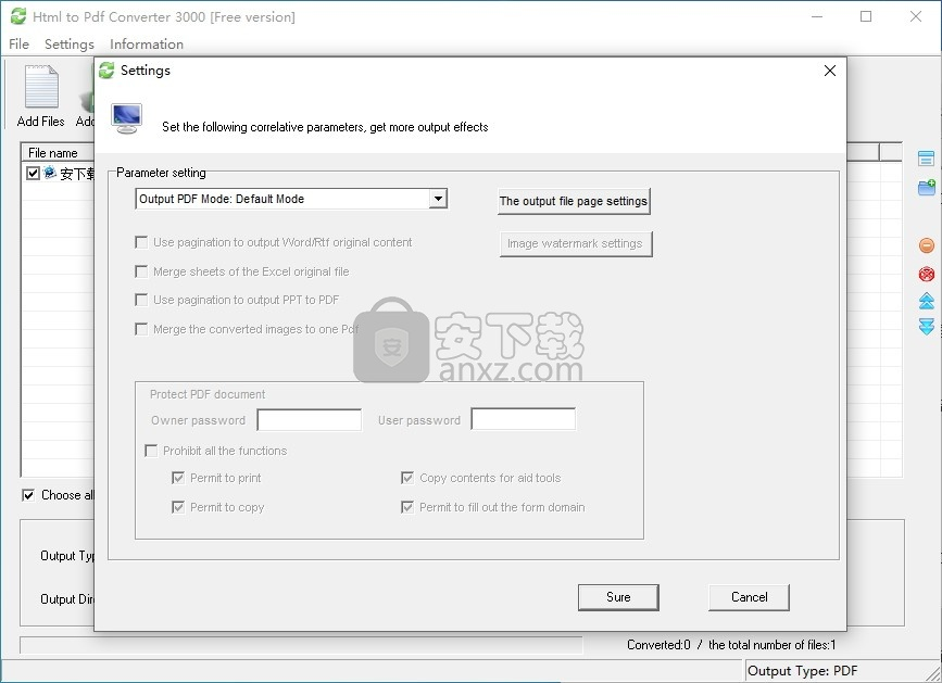 Html to Pdf Converter 3000(HTML转PDF转换器)