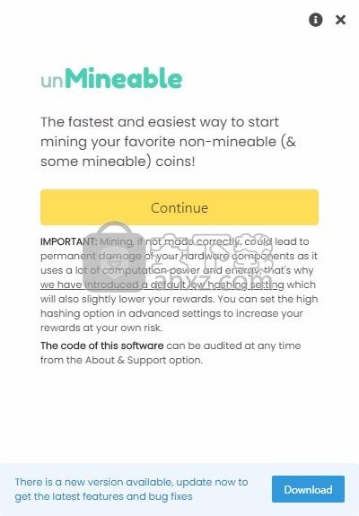 unmineable(狗狗币挖矿软件)