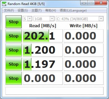 硬盘测速 CrystalDiskMark
